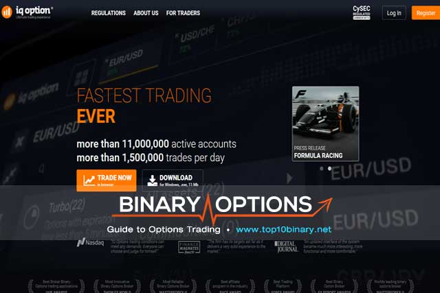 IQ Option Screenshot 1